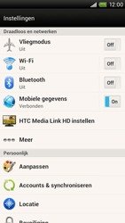 HTC S728e One X Plus - bluetooth - aanzetten - stap 4