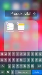 Apple iPhone 7 - iOS 12 - Startanleitung - Personalisieren der Startseite - Schritt 7
