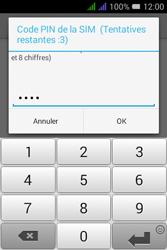 Alcatel Pixi 3 Dual Sim - Sécuriser votre mobile - Personnaliser le code PIN de votre carte SIM - Étape 9