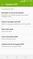 Wiko U-Feel Lite - SMS - Configuration manuelle - Étape 7