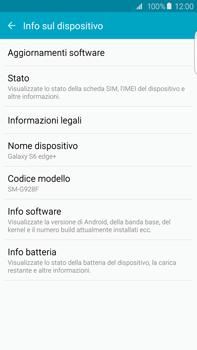 Samsung Galaxy S6 edge+ (G928F) - Software - Installazione degli aggiornamenti software - Fase 6