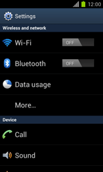 Samsung Galaxy S II - WiFi - WiFi configuration - Step 4