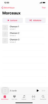 Apple iPhone 11 - Photos, vidéos, musique - Ecouter de la musique - Étape 5