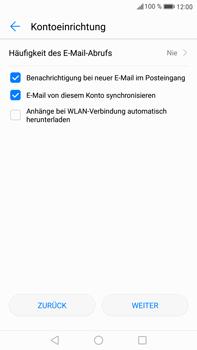 Huawei Mate 9 - E-Mail - 032b. Email wizard - Yahoo - Schritt 11