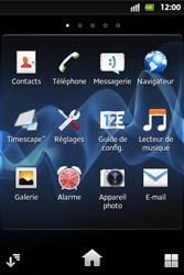 Sony ST27i Xperia Go - MMS - envoi d'images - Étape 2