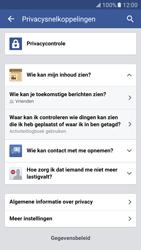 Samsung Galaxy S7 - Privacy - Privacy instellingen van Facebook aanpassen - Stap 23
