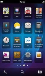 BlackBerry Z10 - Internet et connexion - Désactiver la connexion Internet - Étape 3