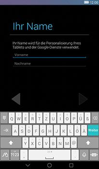 Huawei MediaPad T1 (7.0) - Apps - Konto anlegen und einrichten - 0 / 0
