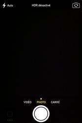 Apple iPhone 4S - Photos, vidéos, musique - Prendre une photo - Étape 4