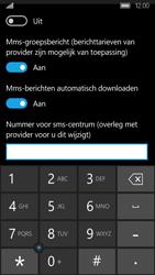 Acer Liquid M330 - SMS - handmatig instellen - Stap 7