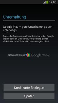 Samsung Galaxy Note III LTE - Apps - Einrichten des App Stores - Schritt 20