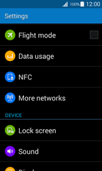Samsung G357 Galaxy Ace 4 - Internet - Manual configuration - Step 4