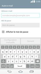 LG G3 - E-mail - configuration manuelle - Étape 6