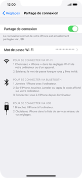 Apple iPhone XS Max - Internet - comment configurer un point d'accès mobile - Étape 8