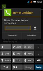 Alcatel OT-4033X Pop C3 - Anrufe - Rufumleitungen setzen und löschen - Schritt 11