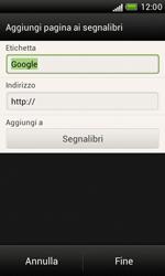 HTC Desire X - Internet e roaming dati - Uso di Internet - Fase 8
