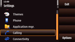 Nokia N97 Mini - Voicemail - Manual configuration - Step 4