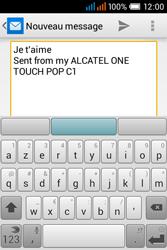 Alcatel OT-4015X Pop C1 - E-mails - Envoyer un e-mail - Étape 9