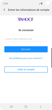 Samsung Galaxy S10e - E-mail - 032b. Email wizard - Yahoo - Étape 7