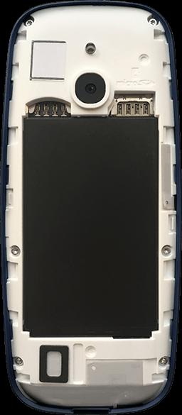 Nokia 3310 - Premiers pas - Insérer la carte SIM - Étape 3