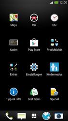 HTC One Mini - Gerät - Zurücksetzen auf die Werkseinstellungen - Schritt 3
