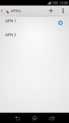 Sony Xperia E3 - MMS - handmatig instellen - Stap 17