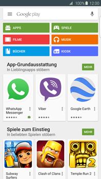 Samsung Galaxy S6 edge+ - Apps - Konto anlegen und einrichten - 1 / 1