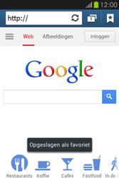 Samsung S6810P Galaxy Fame - internet - hoe te internetten - stap 8