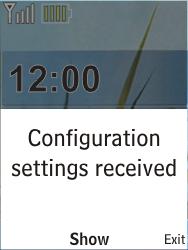 Nokia X2-00 - Internet - Automatic configuration - Step 3
