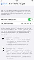 Apple iPhone 8 - iOS 13 - WiFi - So aktivieren Sie einen WLAN-Hotspot - Schritt 8