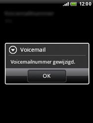 HTC A3333 Wildfire - Voicemail - Handmatig instellen - Stap 7