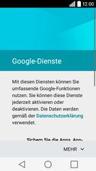 LG Leon 3G - Apps - Konto anlegen und einrichten - 15 / 20