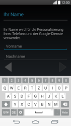 LG D722 G3 S - Apps - Konto anlegen und einrichten - Schritt 5
