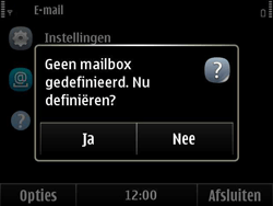 Nokia E6-00 - e-mail - handmatig instellen - stap 4