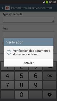 Samsung Galaxy Note 3 - E-mails - Ajouter ou modifier un compte e-mail - Étape 11