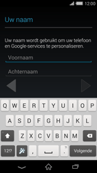 Sony D6503 Xperia Z2 - Applicaties - Account aanmaken - Stap 5