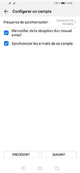 Huawei Y6 (2019) - E-mails - Ajouter ou modifier un compte e-mail - Étape 17