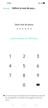 Oppo Reno 4 Pro - Sécuriser votre mobile - Activer le code de verrouillage - Étape 7