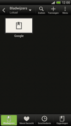 HTC S720e One X - Internet - Internetten - Stap 8