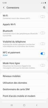 Samsung Galaxy A51 - Internet et connexion - Désactiver la connexion Internet - Étape 5