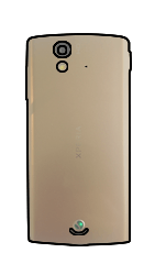 Sony Ericsson Xperia Ray mit OS 4 ICS - SIM-Karte - Einlegen - Schritt 2