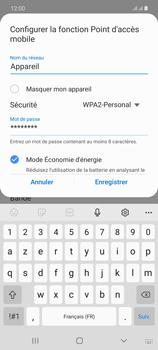 Samsung Galaxy Note20 - Internet et connexion - Partager votre connexion en Wi-Fi - Étape 10