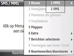 HTC S521 Snap - MMS - Afbeeldingen verzenden - Stap 5