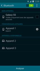 Samsung Galaxy S 5 - Bluetooth - Jumelage d