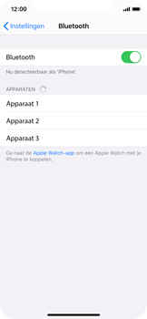 Apple iPhone X - iOS 13 - Bluetooth - koppelen met ander apparaat - Stap 7