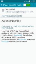 Samsung Galaxy A5 (A500FU) - Internet et connexion - Partager votre connexion en Wi-Fi - Étape 11