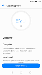 Huawei P10 - Android Oreo - Device - Software update - Step 7