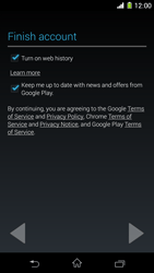 Sony Xperia Z1 - Applications - Setting up the application store - Step 17