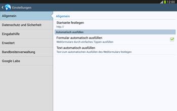 Samsung Galaxy Tab 3 10-1 LTE - Internet und Datenroaming - Manuelle Konfiguration - Schritt 25