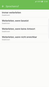 Samsung Galaxy S6 edge+ - Anrufe - Rufumleitungen setzen und löschen - 9 / 13